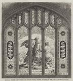 Memorial Window just erected in St Mary's Church, Chester, in Honour of the 23rd Royal Welsh Fusiliers