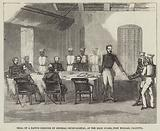 Trial of a Native Prisoner by General Court-Martial, at the Main Guard, Fort William, Calcutta