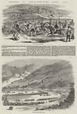 Sketches in China, Hong-Kong Races, 1858