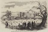 Agricultural Draining Match on the Duke of Sutherland's Estate at Trentham, Staffordshire