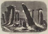 """Stonehenge by Moonlight,"" from the New Drama, ""The Borgia Ring,"" at the Adelphi Theatre"