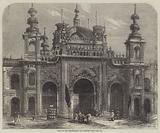 Gate of the Kaiserbagh at Lucknow