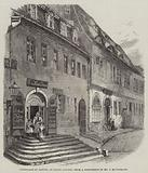 Birthplace of Handel, at Halle, Saxony