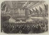 Presentation of the Freedom of the City of Glasgow to the Right Honourable WE Gladstone, in the City Hall