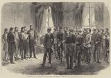 Investiture of the Viceroy of Egypt with the Order of the Bath at Cairo