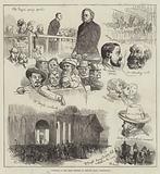 Sketches at the Great Meeting at Bingley Hall, Birmingham
