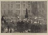 Demonstration at Cork to celebrate the Election of Mr John Mitchel for Tipperary