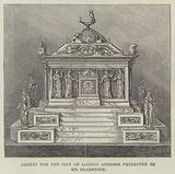 Casket for the City of London Address presented to Mr Gladstone
