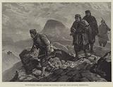 Montenegrins stealing across the Austrian Frontier, near Crivoscie, Herzegovina