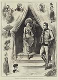 Sketches at a Fancy-Dress Ball at the Royal Albert Hall