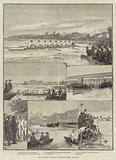 The University Boat-Race, Sketches taken Last Year