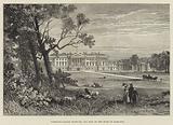 Hamilton Palace, Scotland, the Seat of the Duke of Hamilton