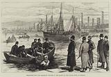 Searching for the Assassins' Knives in the Basin of the Canal Dock at Dublin