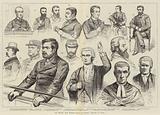 The Phoenix Park Murder Trials at Dublin, Sketches in Court