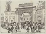 The Colonial and Indian Exhibition, the Gwalior Gateway, Entrance to the Courtyard of the Indian Palace