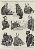 Character Sketches in the Law Courts
