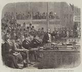 Lord Palmerston making the Ministerial Statement on Dano-German Affairs in the House of Commons on Monday
