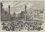 Bicentenary Festival of the Royal Academy of Antwerp, Procession to the Cathedral on Monday, 22 August