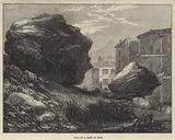 Fall of a Rock at Nice
