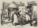 Cottage Life in Warwickshire, Baking Day