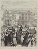The Attempt on the Czar's Life, the Soltykoff Doorway of the Winter Palace, within which the Explosion Occurred