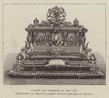 Casket for Freedom of the City, presented to Prince Albert Victor Edward of Wales