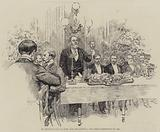 St George's Club Banquet, for the Colonial and Indian Exhibition of 1886