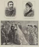 Royal Wedding of Princess Beatrice and Prince Henry of Battenberg