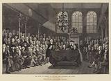 The House of Commons in 1793, Mr Pitt addressing the House