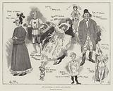 The Pantomime at Drury Lane Theatre