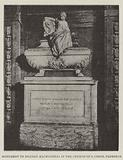 Monument to Niccolo Machiavelli in the Church of S Croce, Florence