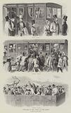 England in 1842, going to the Derby