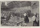 The Funeral Service for the late Duke of Clarence in St George's Chapel, Windsor, Wednesday, 20 January 1892