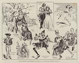 """The Pantomime """"Dick Whittington and his Cat,"""" at the Grand Theatre, Islington"""