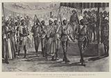 The Soudan Advance, Entry of the Captive Emir Mahmud into Berber after the Battle of Atbara …