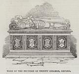 Tomb of the Founder of Trinity College, Oxford