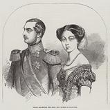 Their Majesties the King and Queen of Hanover