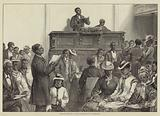 American Sketches, a Negro Congregation at Washington