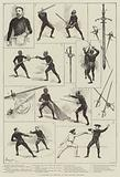 A Lecture of Fencing at the Lyceum Theatre