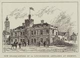 New Headquarters of 1st Lincolnshire Artillery, at Grimsby