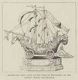 Silver-Gilt Ship given to the Duke of Edinburgh by the Trinity House Corporation