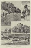 The Expedition to Mashonaland, Sketches on the March