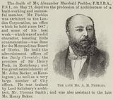 The late Mr AM Peebles