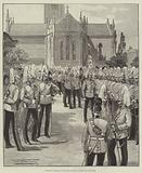 Church Parade of the Household Cavalry at Windsor