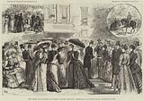 The Duke and Duchess of Teck's Silver Wedding, Reception at White Lodge, Richmond Park