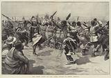 The Ghost Dance of the Sioux Indians in North America