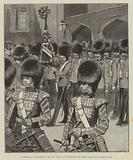 Anniversary of the Battle of the Alma, 20 September 1854, decorating the Queen's Colour at St James's Palace