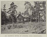 Dr Nansen's House at Lysaker, near Christiania