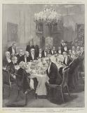 Ministerial Dinner given by Mr Gladstone at 10, Downing Street, Saturday, 17 February