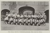 West Indian Troops at Bathurst Barracks, West Coast of Africa